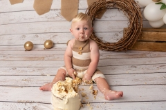 first birthday cake smash